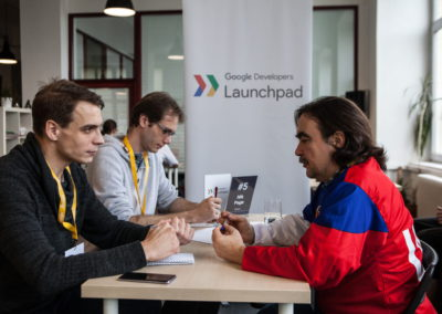 Google Developers Launchpad mentoring